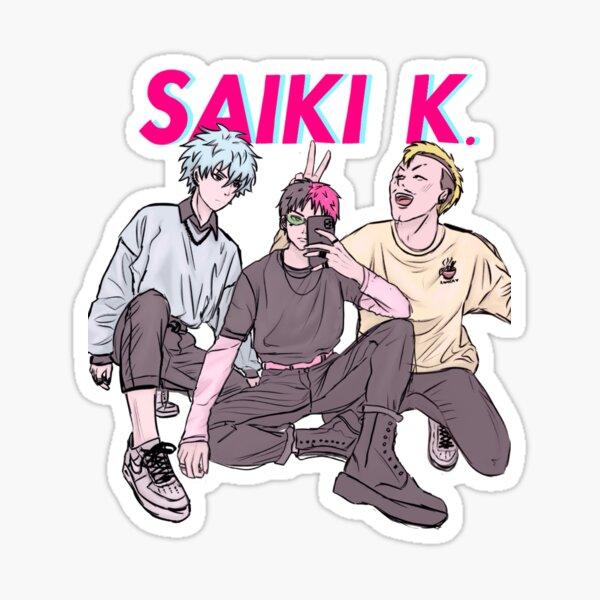 Saiki K. Sticker