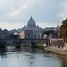 St Peter's Basilica, Rome by Mark Baldwyn