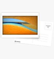 Seashore spied Postcards