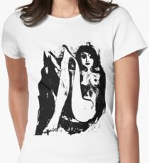 Girl 3 Womens Fitted T-Shirt