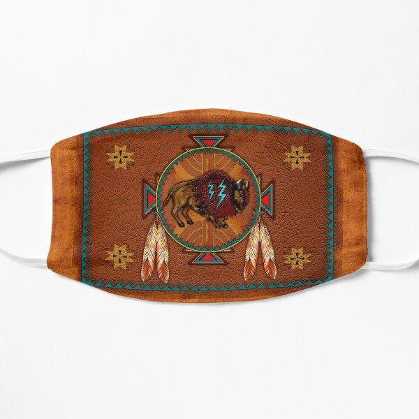 Buffalo Leather Flat Mask