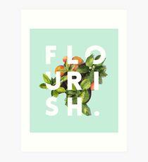 Flourish #redbubble #home #designer #tech #lifestyle #fashion #style Impression artistique