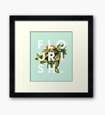 Flourish #redbubble #home #designer #tech #lifestyle #fashion #style Framed Print