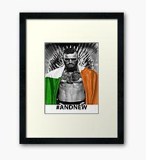 UFC Conor Mcgregor New Champion Framed Print