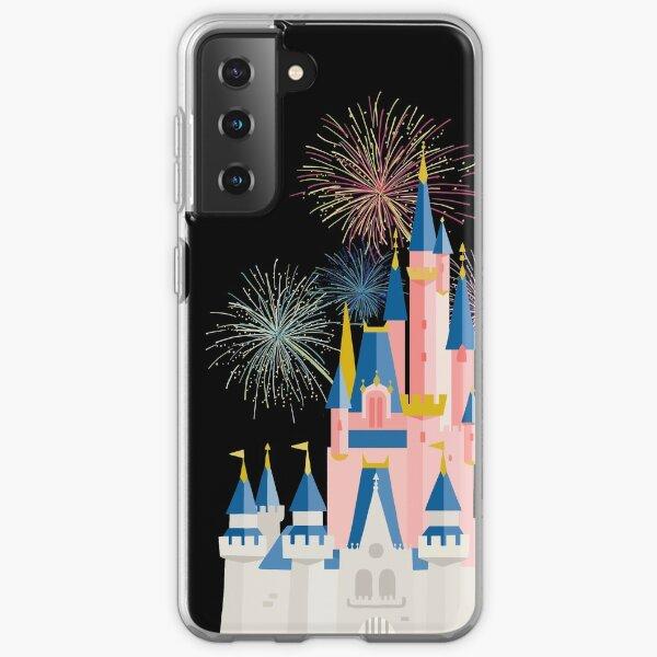 Fairytale Castle Black Samsung Galaxy Soft Case