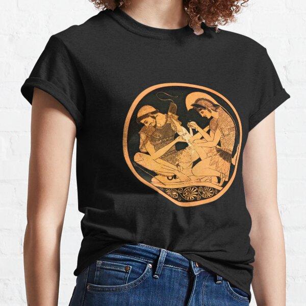 Achilles and Patroclus - Greek pottery Classic T-Shirt