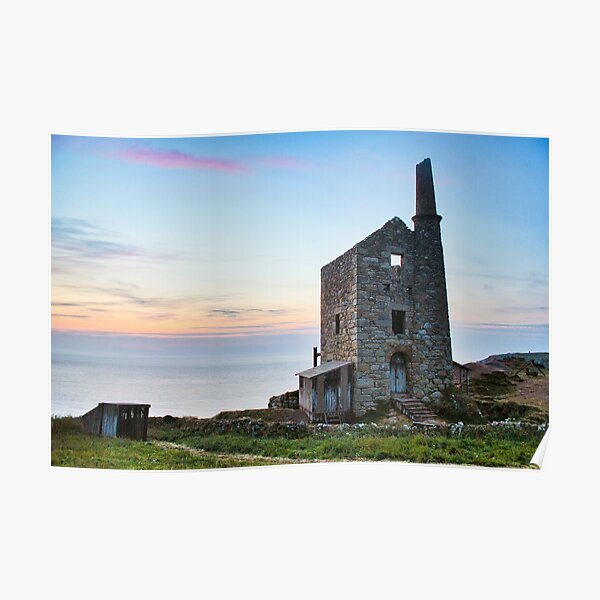 Poldark's Wheal Leisure Mine Poster