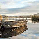 Llangorse Lake by Stephen Liptrot