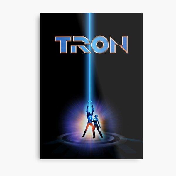 TRON 1982 Metal Print