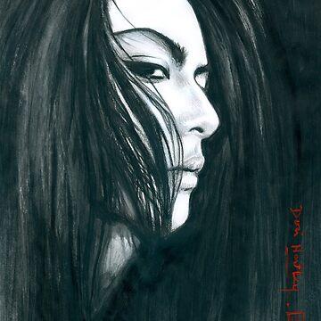 Atsushi Sakurai 2 illustration by Dori Hartley by dorihartley