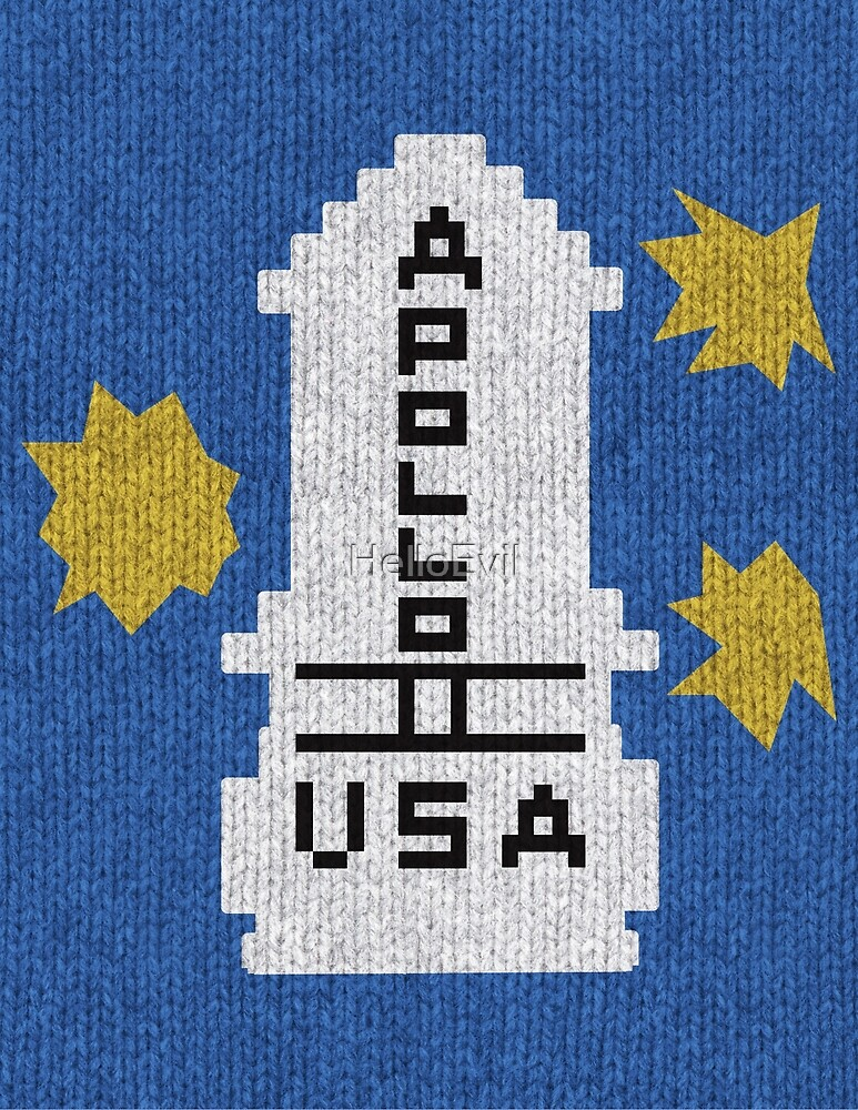 Hello Apollo 11 The Shining Sweater Texture Danny Torrence By