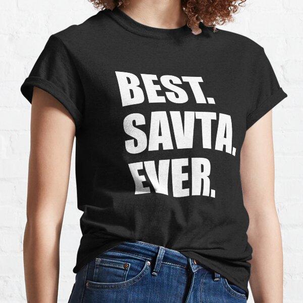 Best Savta Ever Jewish Grandmother Classic T-Shirt