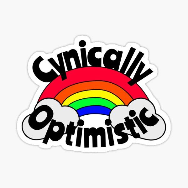 Cynically Optimistic Sticker