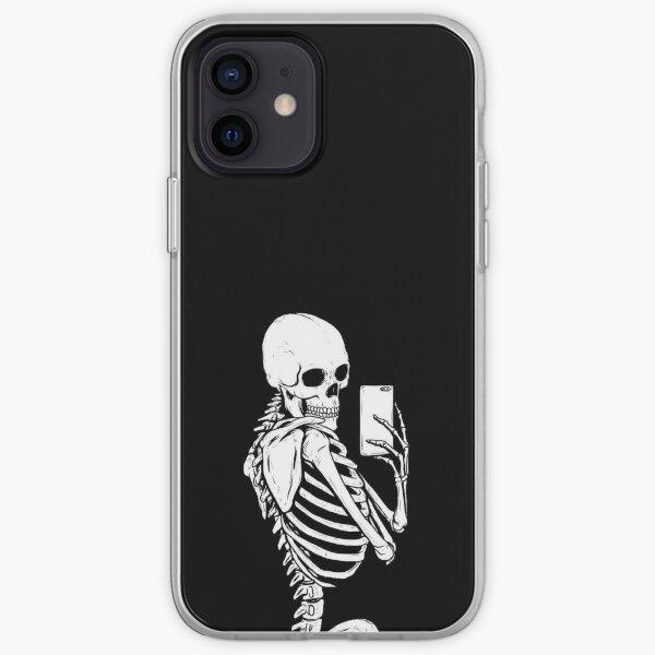 Esqueleto: Selfie Funda blanda para iPhone