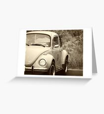Peace Bug black and white Greeting Card