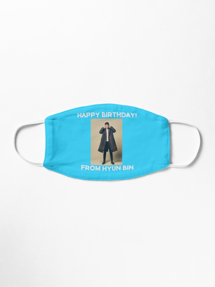 Alternate view of Happy Birthday From Hyun Bin  Mask