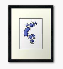 The Burrower Framed Print