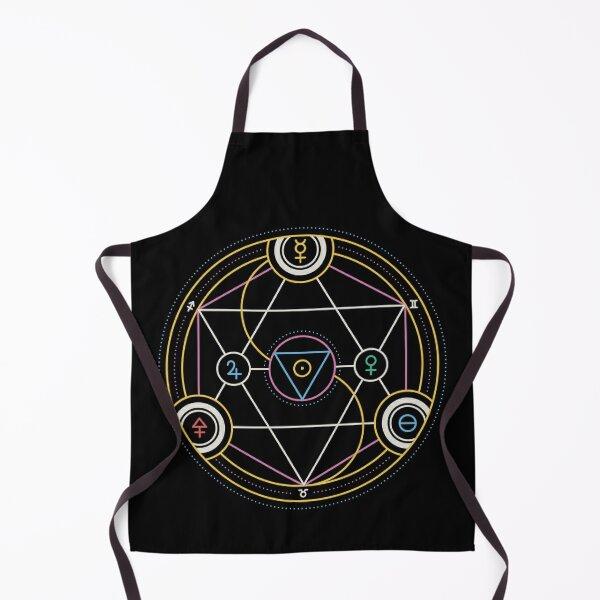Alchemy Transmutation Circle - Self-development Symbol Apron