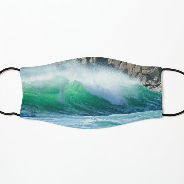 Nanjizal Wave, Cornwall Kids Mask