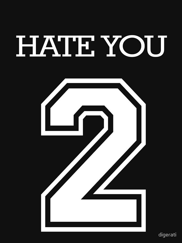 Hate You 2 by digerati