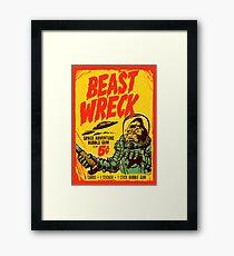 BEASTWRECK ATTACKS Framed Print