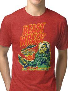 BEASTWRECK ATTACKS Tri-blend T-Shirt