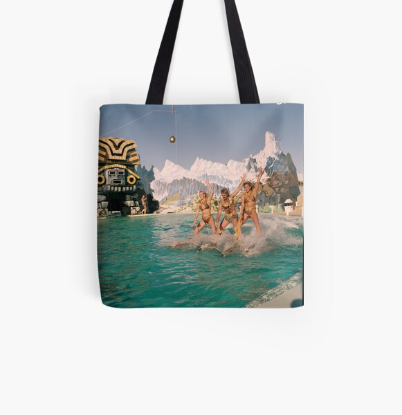 Atlantis Marine Park dolphin show, Yanchep, 1986, State Library of Western Australia All Over Print Tote Bag