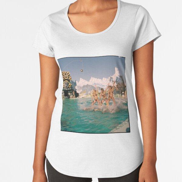 Atlantis Marine Park dolphin show, Yanchep, 1986, State Library of Western Australia Premium Scoop T-Shirt
