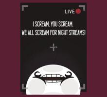 Cry, Stream Night | V-Neck