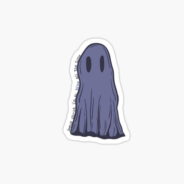 funeral ghost Sticker