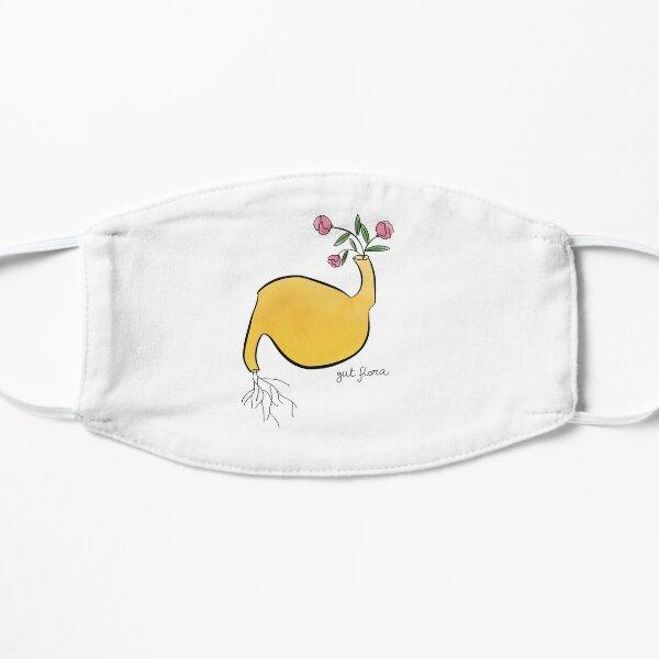 Gut flora literal design Flat Mask