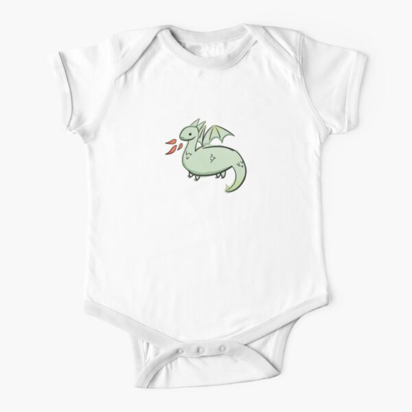 Rawr goes the dragon Short Sleeve Baby One-Piece