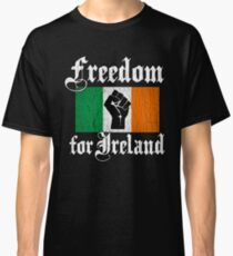 Freedom for Ireland (Vintage Distressed Design) Classic T-Shirt