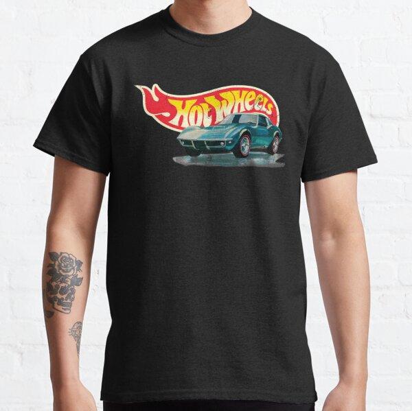 Hot Wheels Chevrolet Corvette Stingray 1968 - Auténtico, vintage, apenado Camiseta clásica