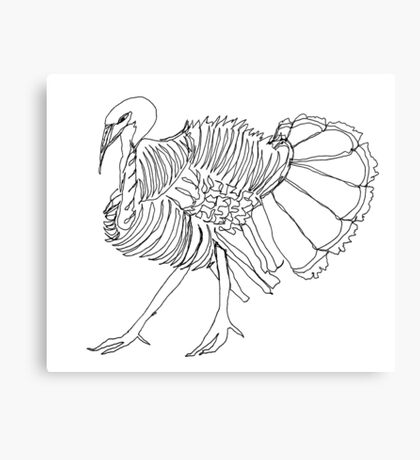 gobble gobble Canvas Print