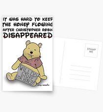 Winnie the Addict Postcards