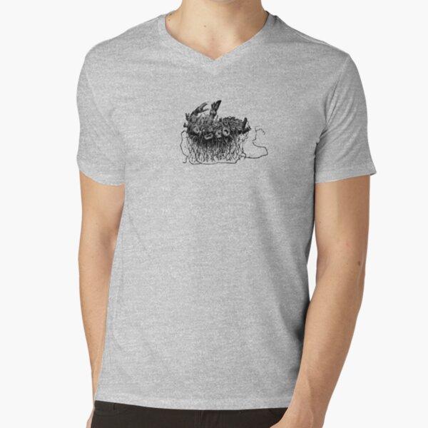 T-shirt Rhizome T-shirt col V