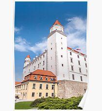 Bratislava Castle. Poster