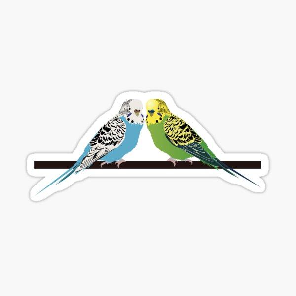 Budgies Sticker