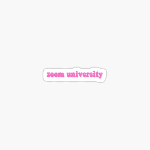 zoom u Sticker