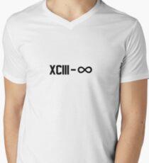 XCIII – ∞ Men's V-Neck T-Shirt