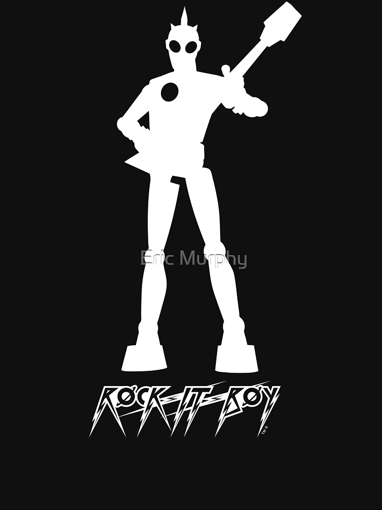 rock-it-boy! : logo by sadmachine