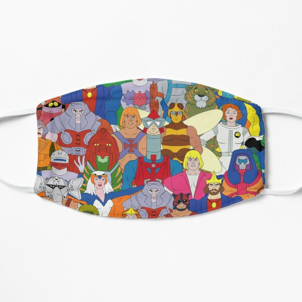 The Masters Heroes - Face Mask Flat Mask