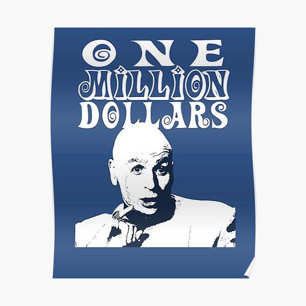 One Million Dollars Poster