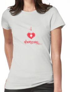 I <3 Shotguns (red & white) T-Shirt