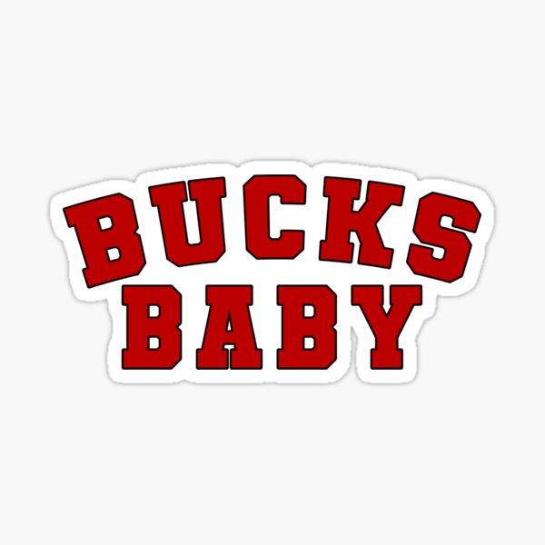 bucks baby Sticker