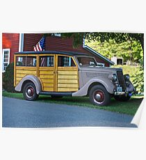 1935 Ford Stationwagon Poster