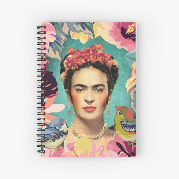Frida kahlo v Spiral Notebook
