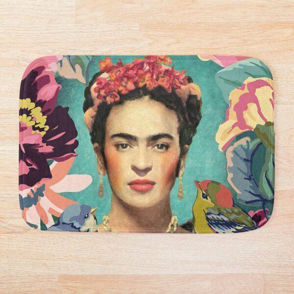 Frida Kahlo v Tapis de bain