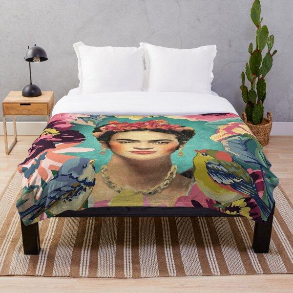 Frida kahlo v Fleecedecke
